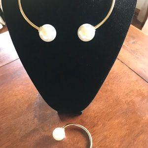 Zara Necklace And Bracelet set